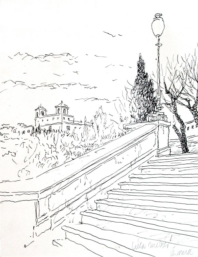Escalinata de la Trinidad - Roma