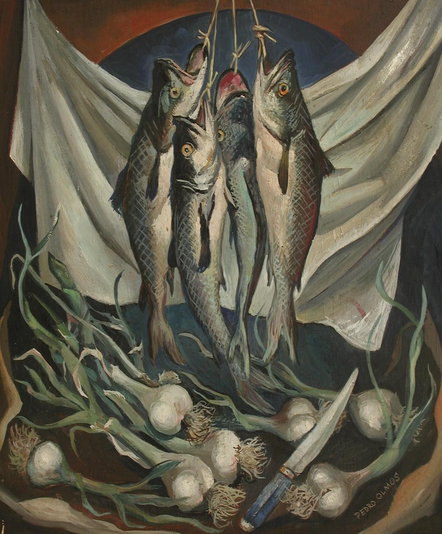 Bodegón con pescado