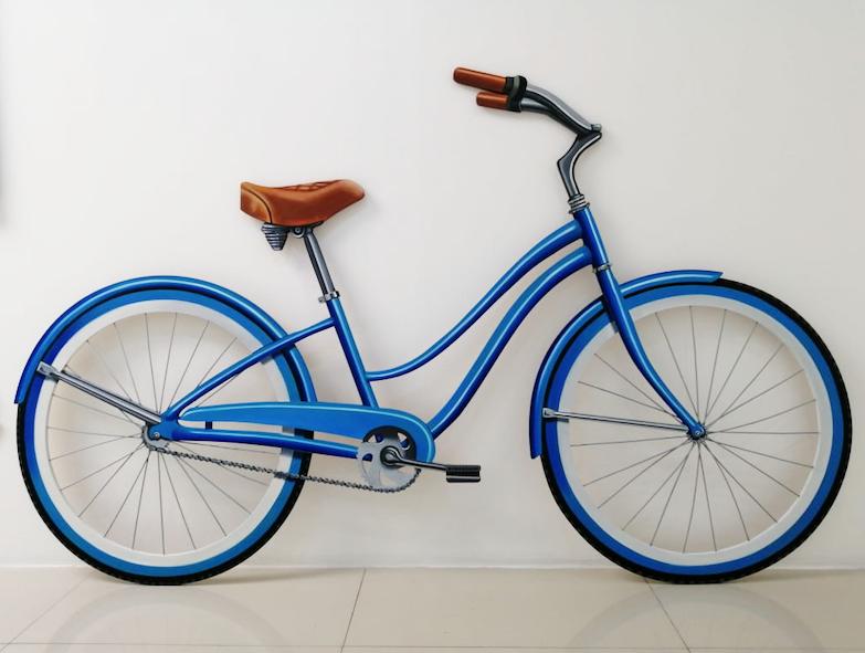 Bici Azul