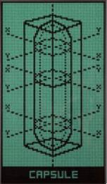 Capsule VI (Fondo verde/negro)
