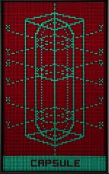 Capsule VI (Fondo rojo/verde)