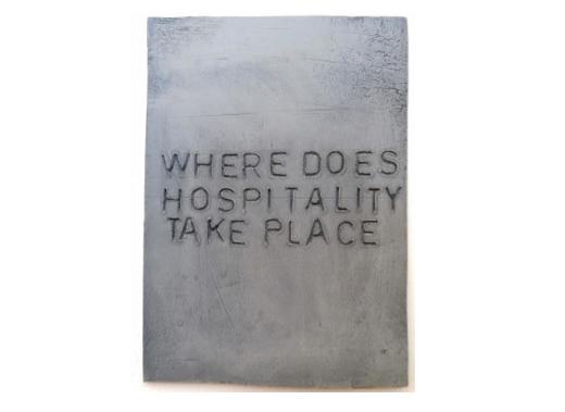 Where does hospitality take place?