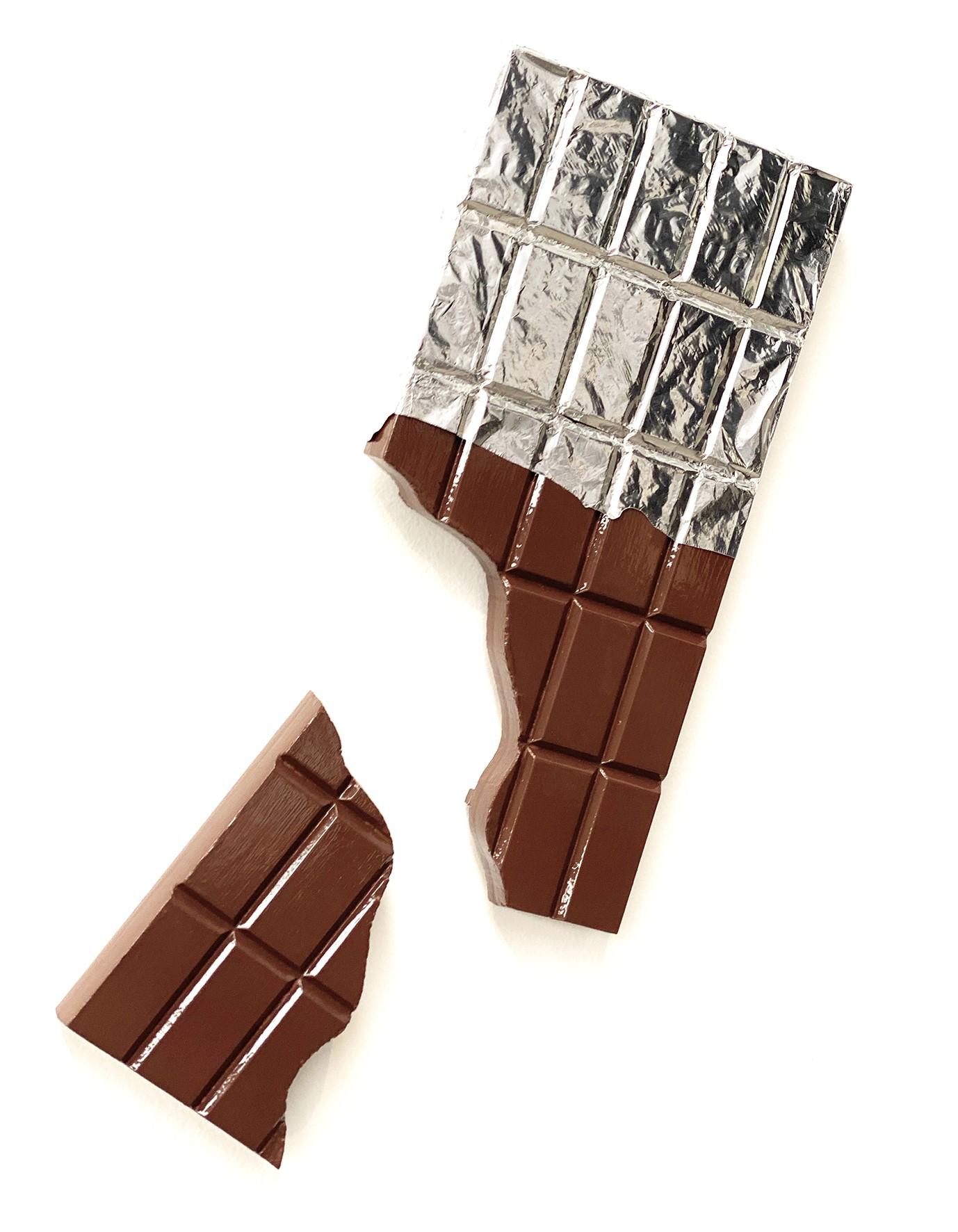 Barra Chocolate rota
